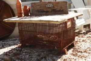Lobster Trap & Barn Door Table
